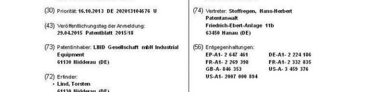 lind,patent